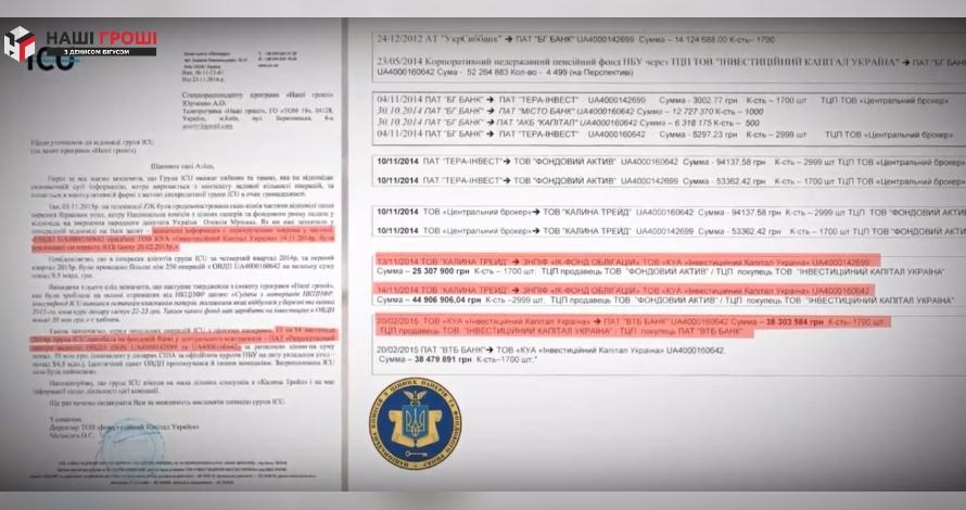ICU екс-партнерів Гонтаревої намагається приховати, в кого придбала виведені з БГ Банку облігації