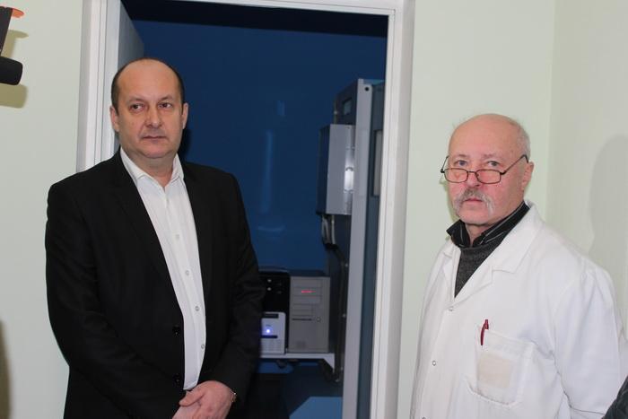 У Луцьку відкрили оновлений флюорографічний комплекс із цифровою обробкою даних