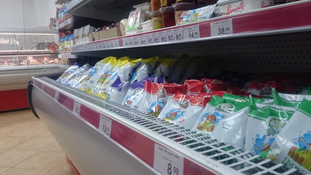 Угринівський молокозавод відкрив у Луцьку перший власний міні-маркет