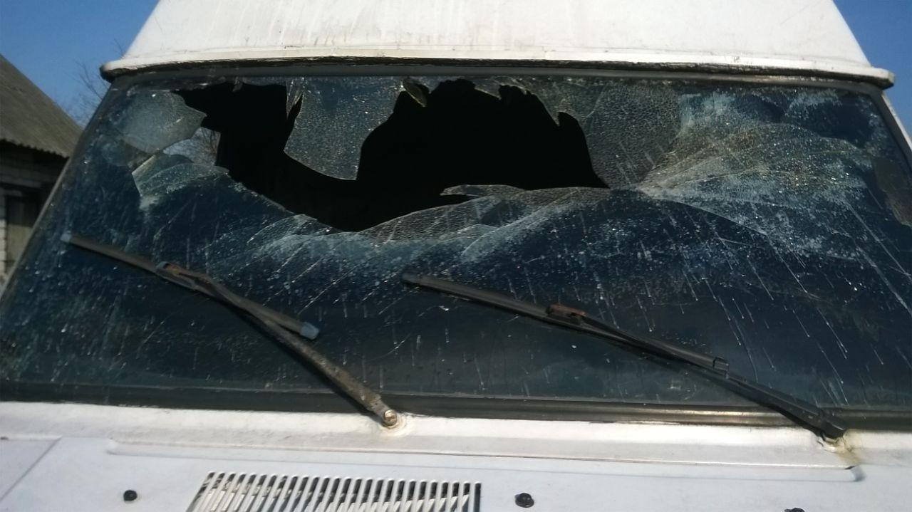 У  Ратному горів автомобіль керівника місцевого осередку партії «Об'єднання «Самопоміч»