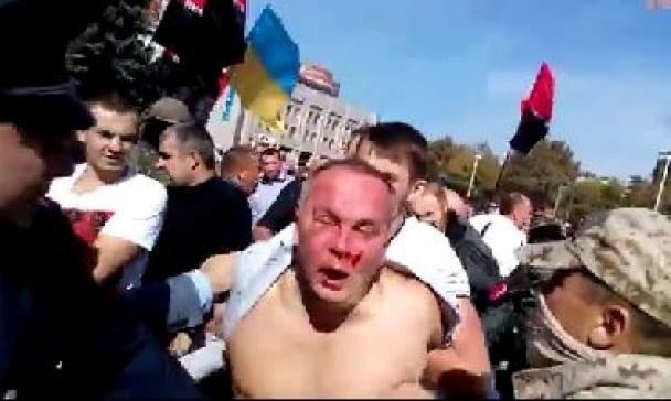 Савченко забросали яйцами в Николаеве - Цензор.НЕТ 7969