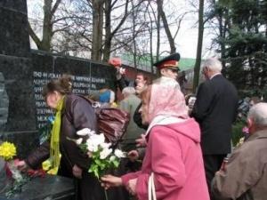 На Волині вшанували в'язнів фашистських концтаборів