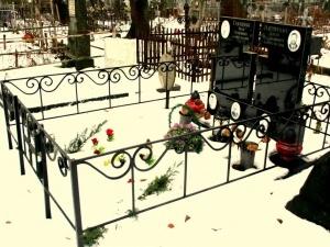 У Заборолі вандали викрадали металеві огорожі з могил