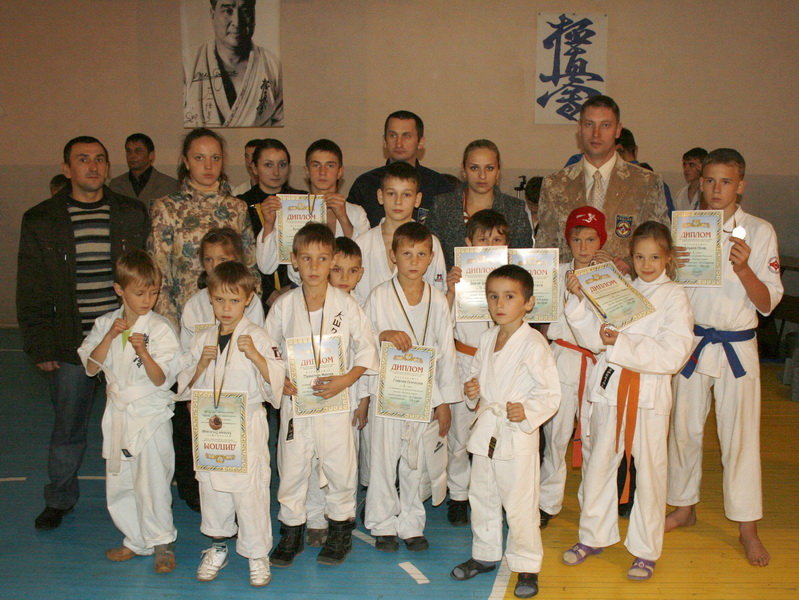 Волинські каратисти — переможці відкритого чемпіонату Західної України