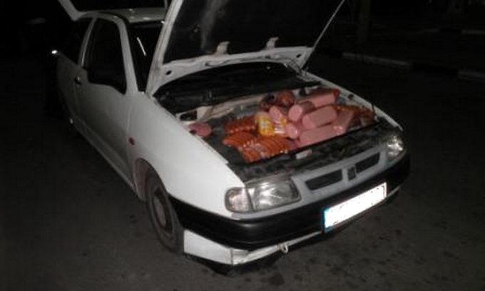 Ягодинські прикордонники затримали «фарширований» м'ясом автомобіль