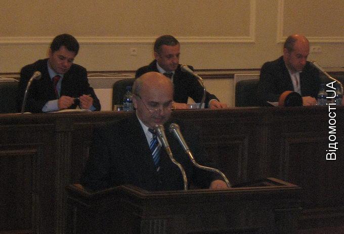 Відбулося перше засідання Волинської обласної ради