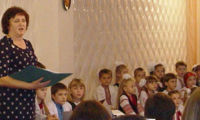 Луцька гімназія №14 провела свято «Обереги татових долонь»