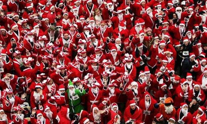 Американські Санта-Клауси хочуть поставити світовий рекорд