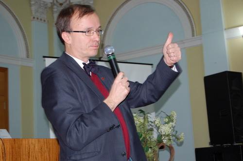 Посол Фінляндії в Україні прочитав лекцію для волинських студентів