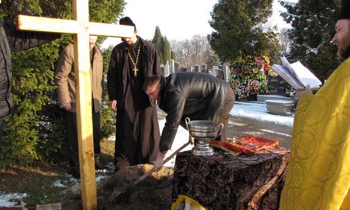 На кладовищі у Гаразджі побудують каплицю