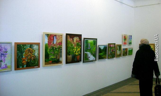 Юні художники виставили свої роботи у галереї мистецтв