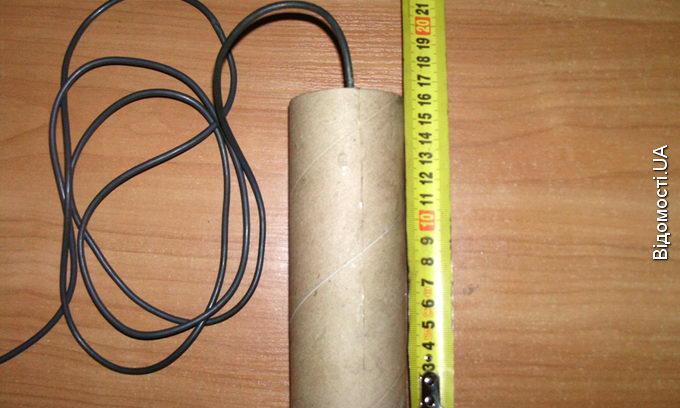 На кордоні затримали білоруса з саморобним вибуховим пристроєм