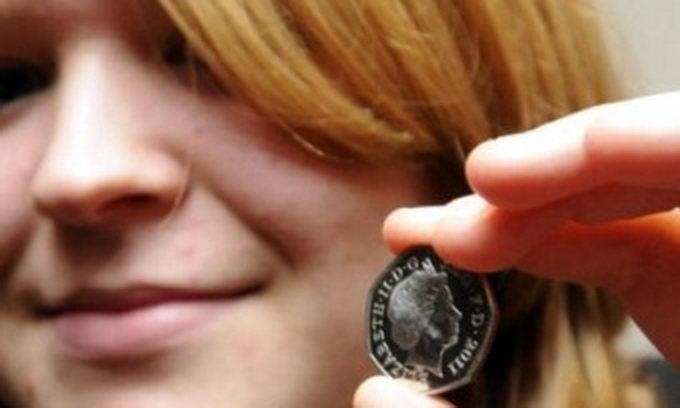 Студентка знайшла монету «з майбутнього»