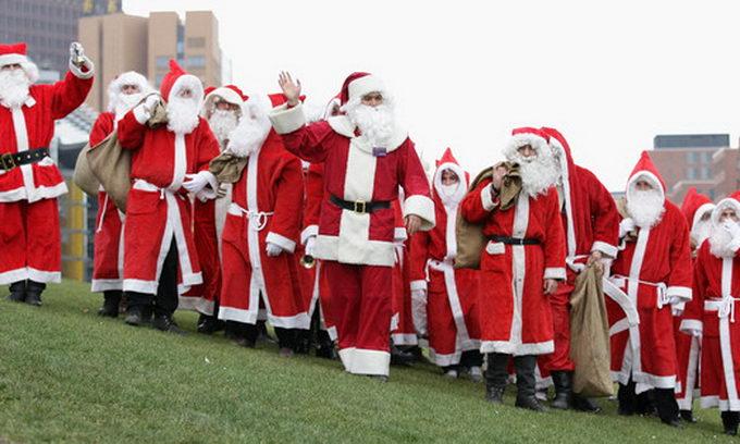 В Америці відкрили Залу слави Санта-Клаусів