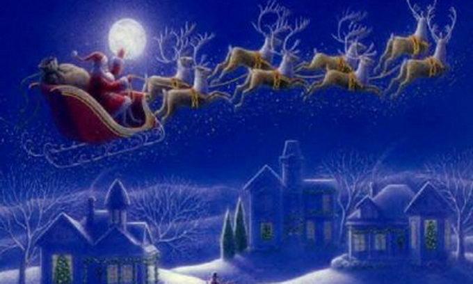 Сьогодні Санта-Клаус вилітає з Полюса розносити подарунки