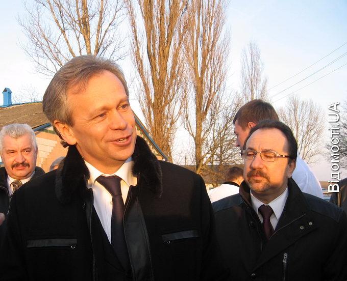 Аграрний міністр запустив борошномельний комплекс на «Волиньзернопродукті»