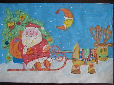 Підбито підсумки конкурсу малюнків «Моє улюблене зимове свято»
