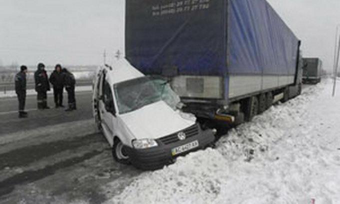 У ДТП на Волині загинуло троє чоловік
