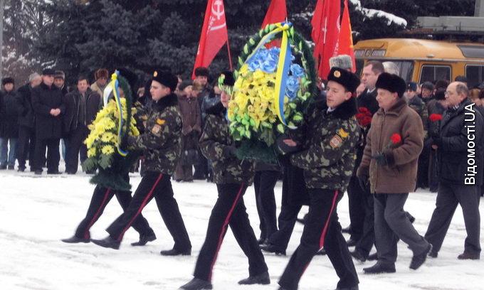 В Луцьку відзначили 67-му річницю визволення від фашистів. ФОТО