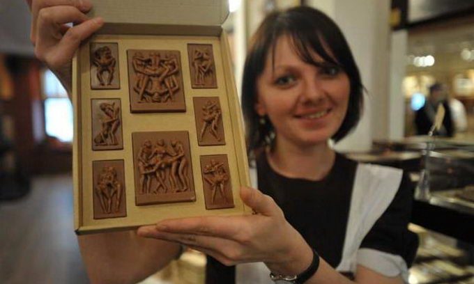 У Львові продають «Камасутру» на шоколаді