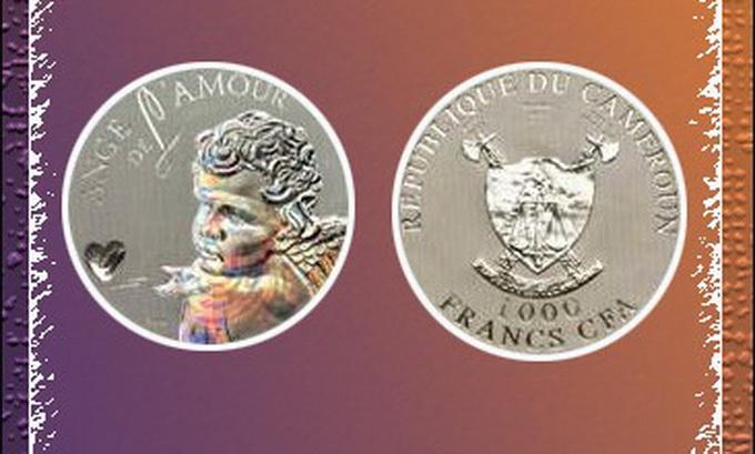 До Дня святого Валентина Ощадбанк випустив монету «Ангел кохання». ФОТО