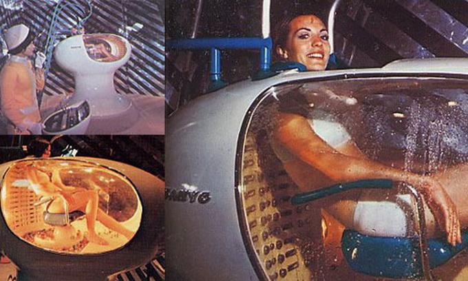 Пральна машина для людини і помиє, і зробить масаж