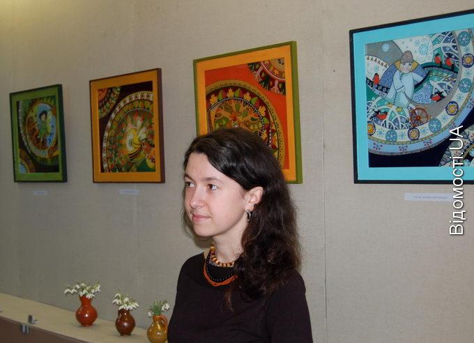 В краєзнавчому музеї  експонують «Народження Нового сонця»
