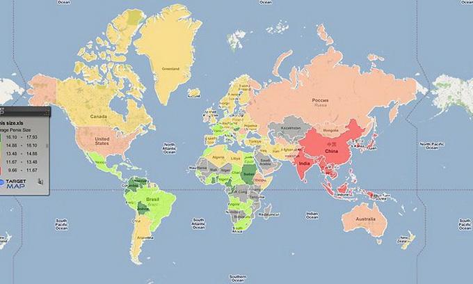 Весь Інтернет розглядає карту пенісів світу