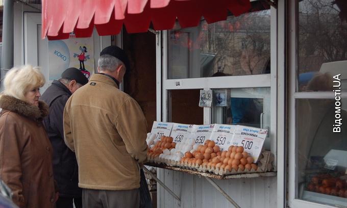 На Волині подешевшали яйця, сало й молочні продукти