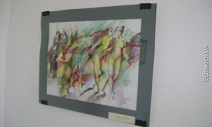 Наталя Кумановська представила в луцькій арт-галереї свої нові роботи
