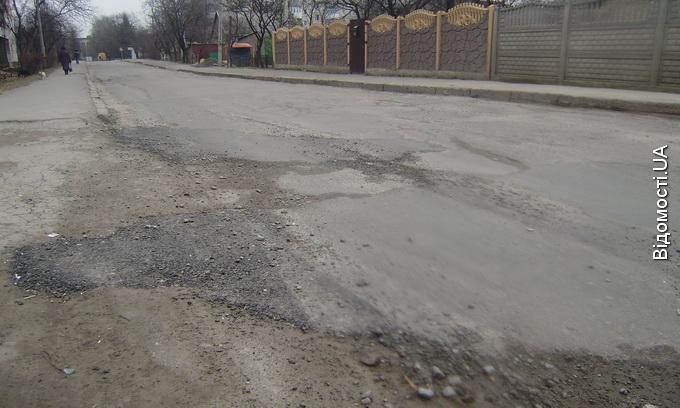 До Великодня більшість доріг на Волині мають відремонтувати
