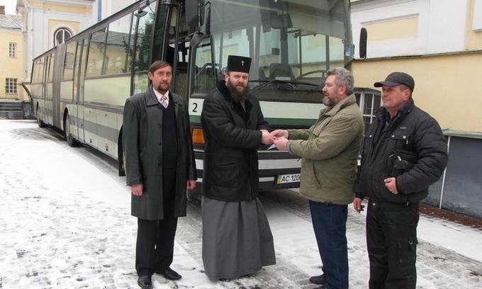 Волинські паломники їздитимуть на прощі автобусом від німецьких благодійників