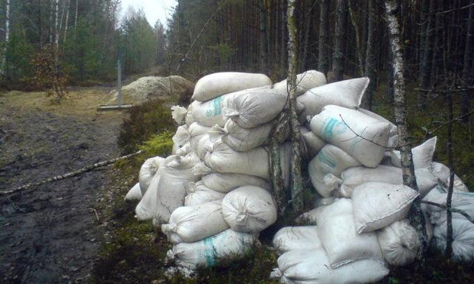 На Ратнівщині затримали порушників з трьома тоннами контрабандної селітри