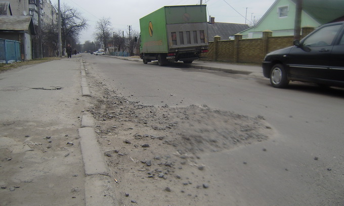 У вулиці і дороги Волинської області уряд вкладе 68 мільйонів