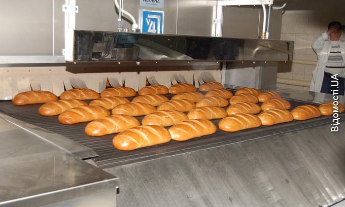 На ВАТ «Хліб» запустили автоматичну лінію із виготовлення батонів