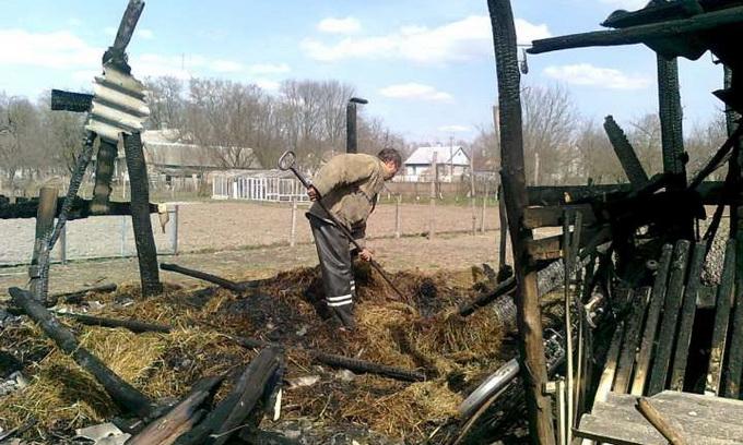 Через гру з вогнем на Волині загинули двоє діток