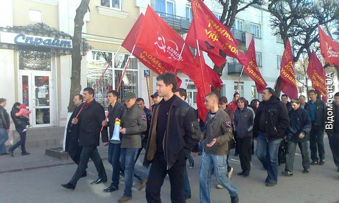 Комуністи в Луцьку знову здійняли бучу