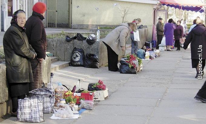 Стихійні торговці просять облаштувати їм ринок на «Ювілейному»