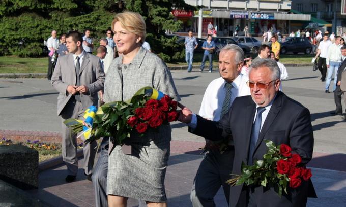 Раїса Богатирьова на Волині говорила про державний кордон
