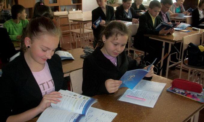 Луцькі школярі отримали профорієнтаційні щоденники