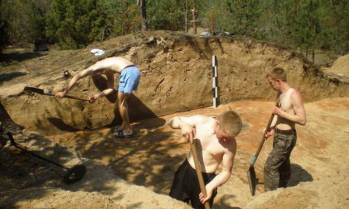 У Шацькому районі археологи знайшли древній цвинтар