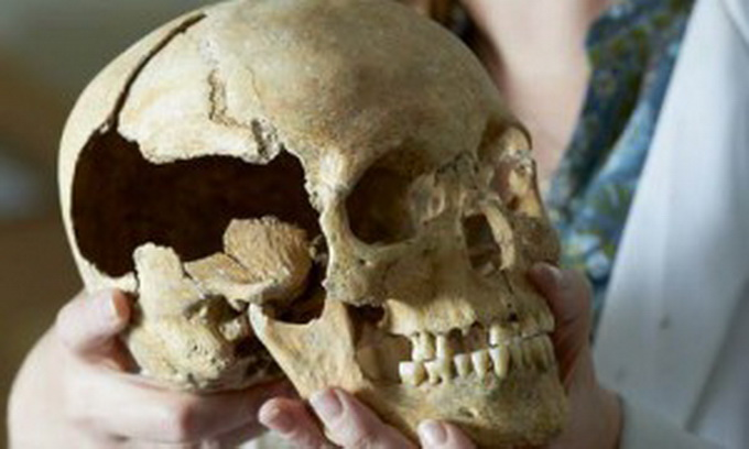Реконструкция черепа черной агнесс сделанная хисторик скотланд
