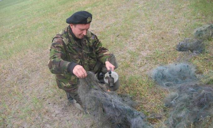 На Ратнівщині спалили 750 метрів браконьєрських сіток