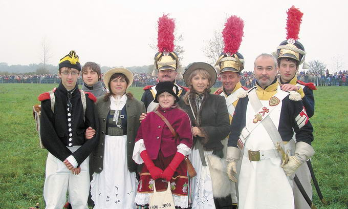 Лучани відтворюють добу Наполеона