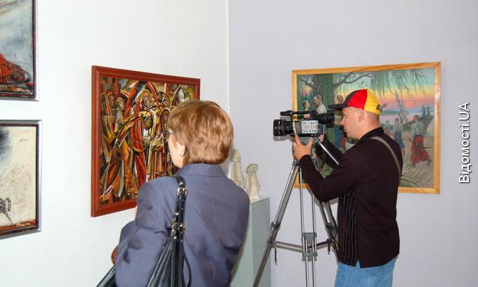 У Луцьку показують Берестецьку битву в картинах і скульптурах