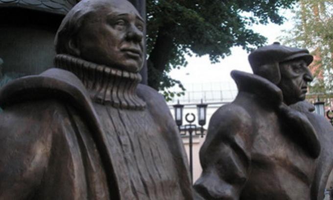 У Вірменії відкрили пам'ятник героям фільму «Міміно»