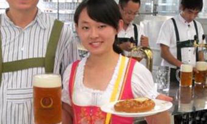 Китайці скопіювали німецький Октоберфест