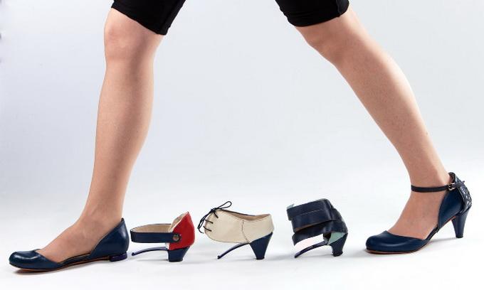 Ізраїльська дизайнерка придумала одні туфлі на всі випадки життя