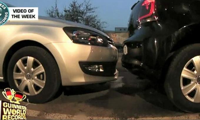 Німецький автолюбитель встановив рекорд із паркування
