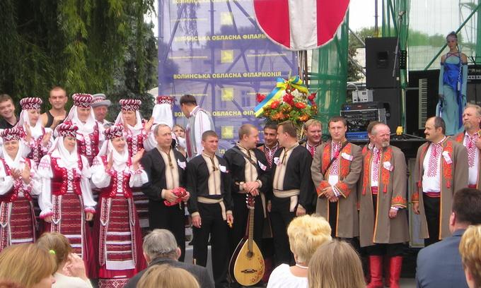 У Луцьку пройшов фестиваль «Пісні великої Волині»
